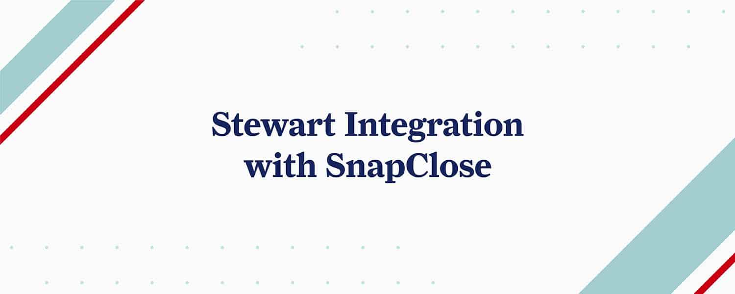 Stewart Integration with SnapClose text.