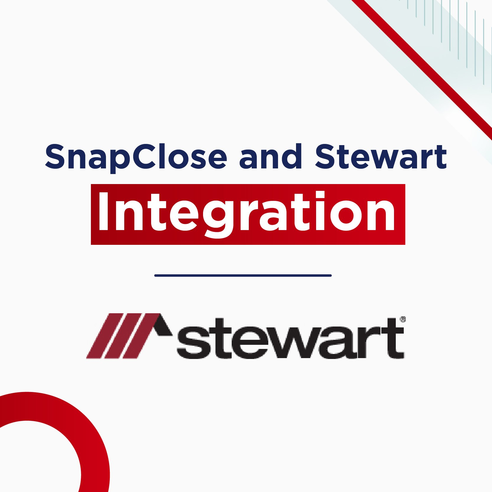 Stewart & SnapClose Integration Webinar